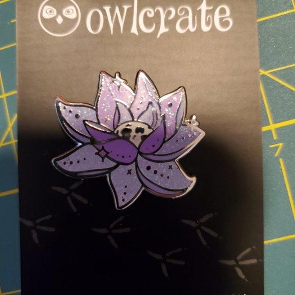 OwlCrate Enamel Pin